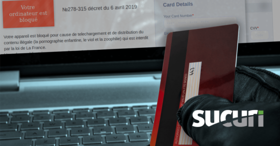 Fake French Police Sextortion Scam