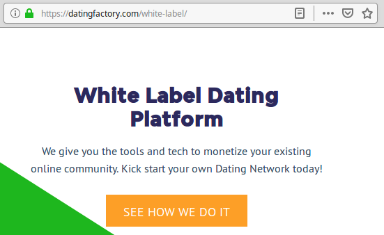 Dating Factory site