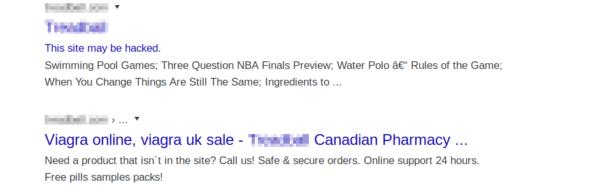 Example of pharma spam