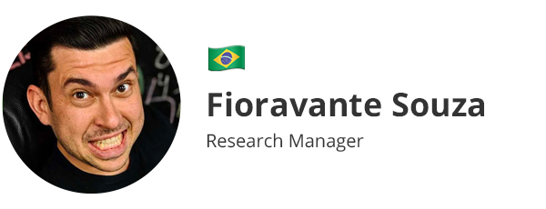 Fioravante Souza - Research Manager