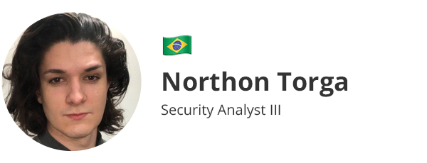 Northon Torga - Security Analyst III