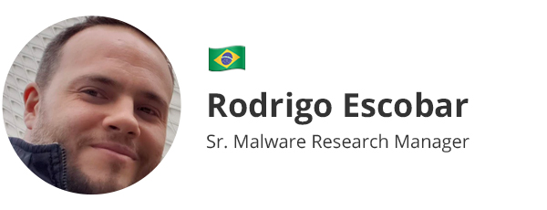 Rodrigo Escobar - Sr. Malware Research Manager