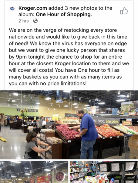 Fake FB posts