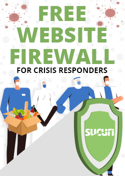 Free WAF for Crisis Responders