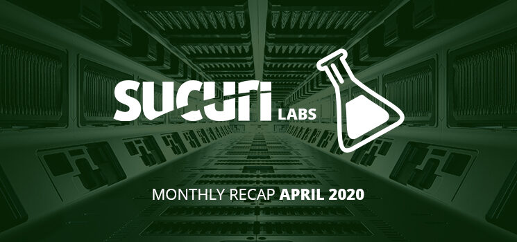 Labs Notes Monthly Recap – April/2020