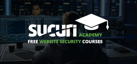 Sucuri Academy: Free Website Security Courses