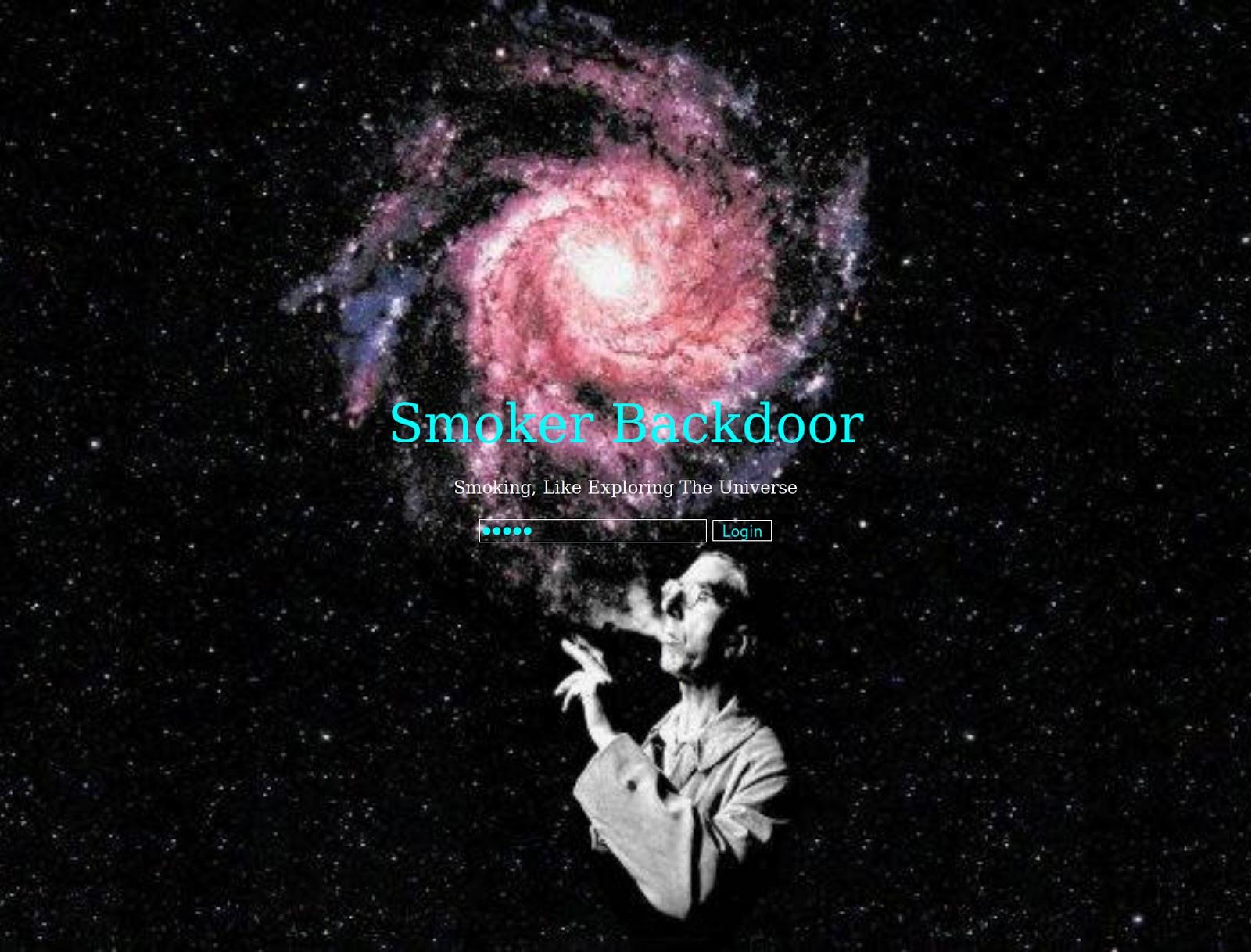 Smoker Backdoor
