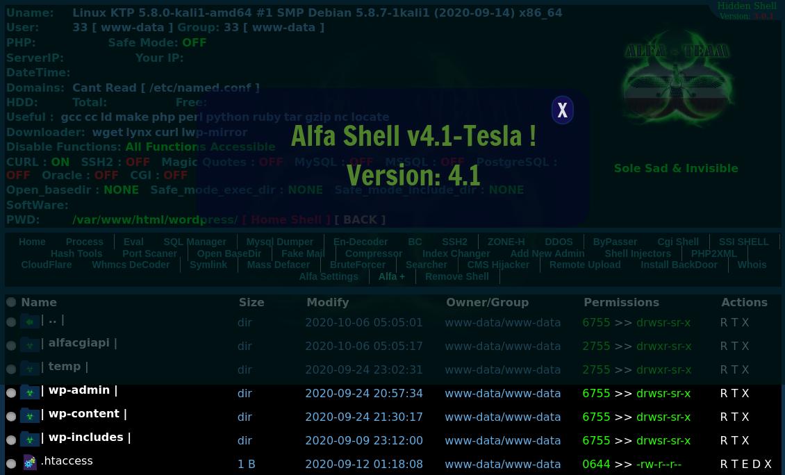 Update Notice Alfa Shell v3