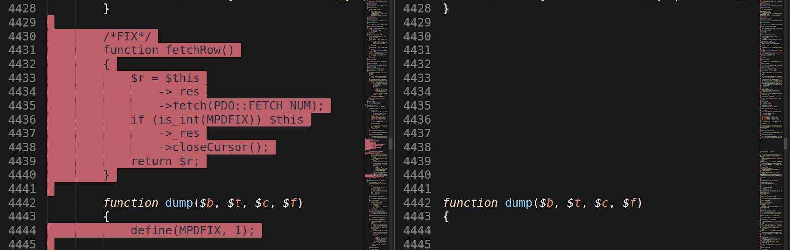 SQL defect fixes
