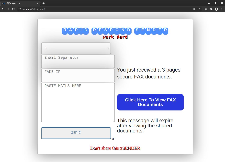 hacktool spam mailer