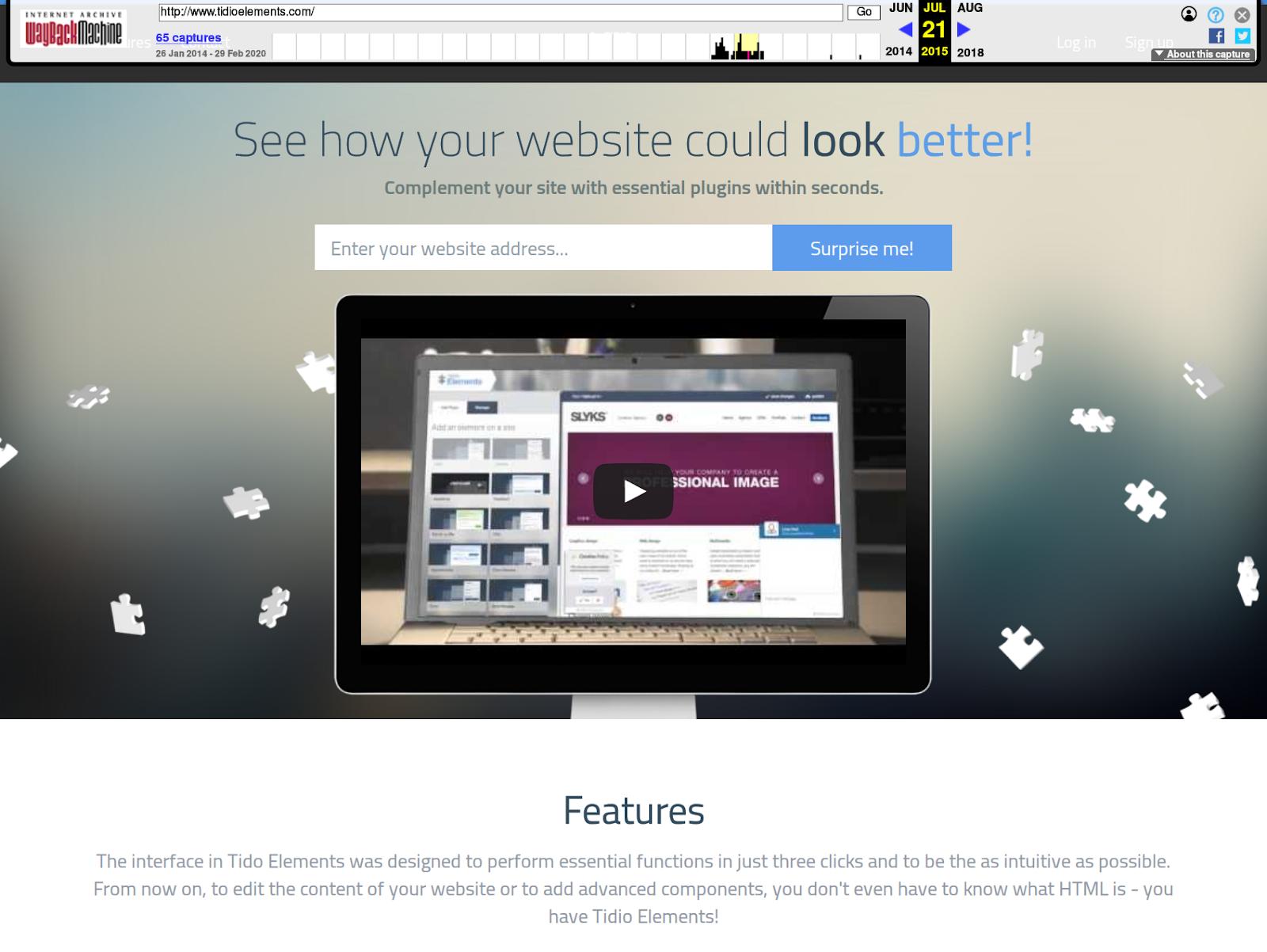 Expired Domain Landing Plugin Page