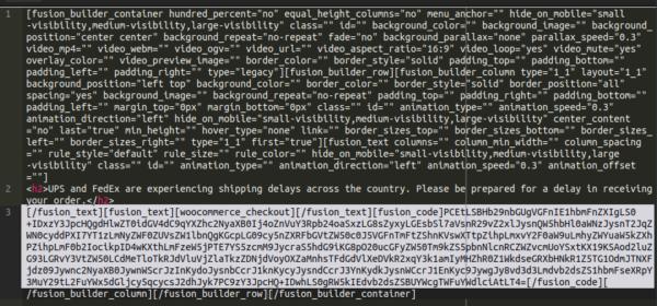 Malware in base64