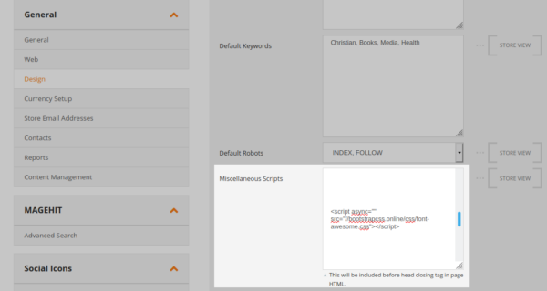 JavaScript Injection in a Magento website