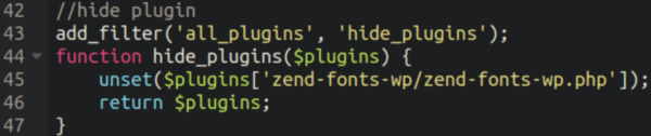 Code snippet 4