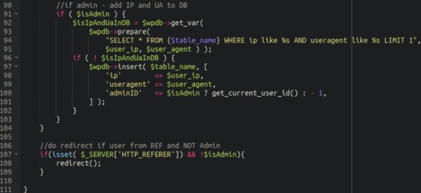 Code snippet 6
