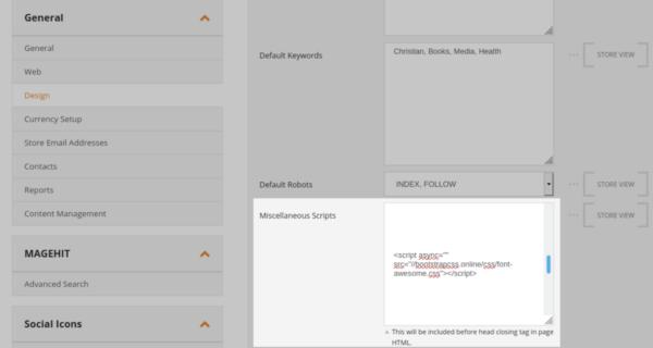 JavaScript on widgets
