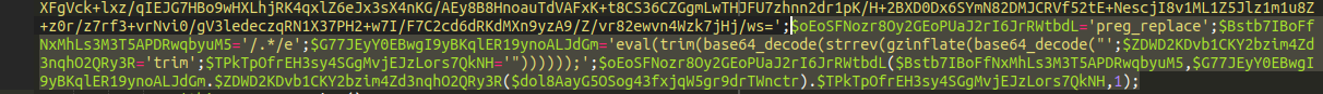 Malware snippet